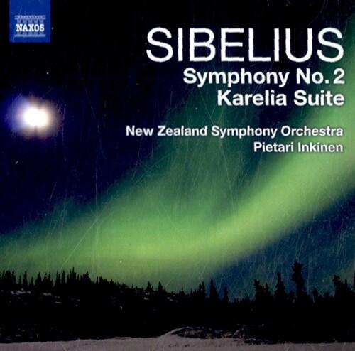 [수입] 시벨리우스 : 교향곡 2번 & 카렐리아 모음곡