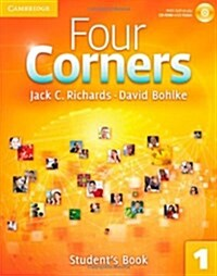 Four Corners Level 1 Students Book with Self-study CD-ROM (Package)