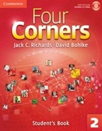 Four Corners Level 2 Student's Book with Self-study CD-ROM (Package)