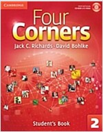 Four Corners Level 2 Full Contact with Self-study CD-ROM (Package)