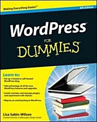 WordPress for Dummies (Paperback, 4th)