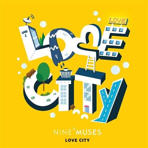 나인뮤지스 - 미니앨범 리패키지 Muses Diarypart.3 : Love City