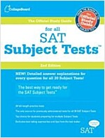 The Official Study Guide for All SAT Subject Tests, 2nd Ed [With 2 CDROMs] (Paperback, 2)