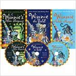 [Winnie the Witch] 마녀 위니 챕터북 직수입도서 신간 3종 (Paperback + Audio CD 3장) (Paperback 3권 + Audio CD 3장, 미국식 발음)