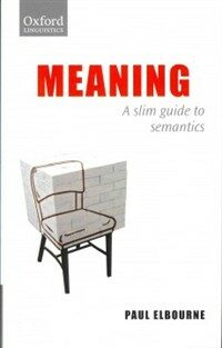Meaning : a slim guide to semantics