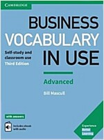 Business Vocabulary in Use: Advanced Book with Answers and Enhanced ebook : Self-study and Classroom Use (Package, 3 Revised edition)