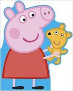 Peppa Pig: All About Peppa : A Peppa-shaped board book (Board Book)