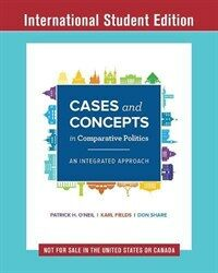 Cases and Concepts in Comparative Politics : An Integrated Approach (Paperback)