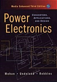 Power Electronics: Converters, Applications, and Design (Hardcover, 3)