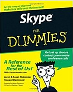 Skype For Dummies (Paperback)