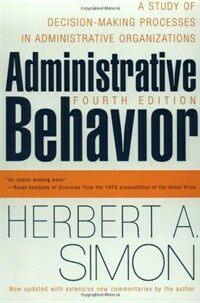 Administrative Behavior, 4th Edition (Paperback, 4, Revised)