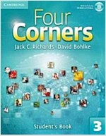 Four Corners Level 3 Student's Book with Self-study CD-ROM (Package)
