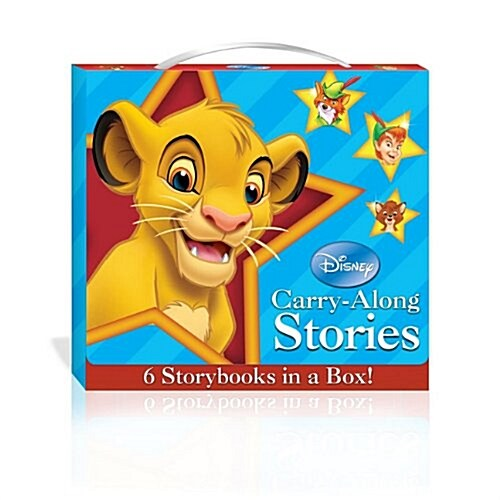 Disney Carry Along Stories for Boys (Paperback)