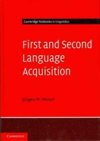First and Second Language Acquisition : Parallels and Differences