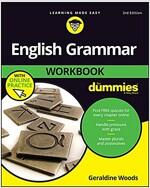 English Grammar Workbook for Dummies with Online Practice (Paperback, 3)