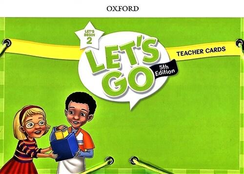 (5판)Lets Go Begin 2: Teacher Cards (Cards, 5th Edition)