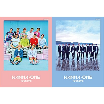[SET] 워너원 - 미니 1집 1x1=1(TO BE ONE) [Sky + Pink Ver.]