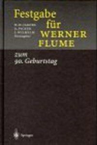 Festgabe für Werner Flume zum 90. Geburtstag