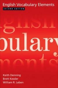English Vocabulary Elements (Paperback, 2)