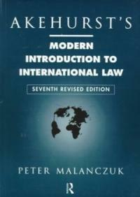 Akehurst's modern introduction to international law / 7th rev. ed