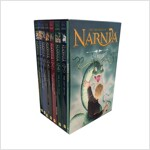 The Chronicles of Narnia 8-Book Box Set (1~7 + Trivia book) (3 paperbacks)