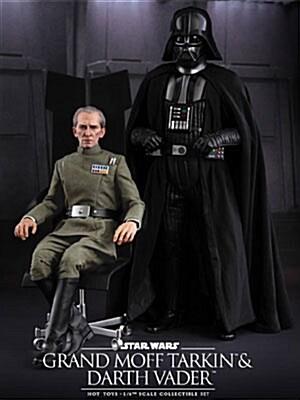 [Hot Toys] 스타워즈 에피소드 IV 타킨총독+다스베이더 2종 세트 MMS434 1/6th scale Grand Moff Tarkin & Darth Vader Collectible Set