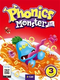 Phonics Monster 3 : Student Book (Long Vowels) (2nd)