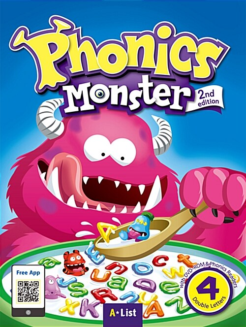 Phonics Monster 4 : Student Book (DVD-ROM + MP3 CD + Phonics Readers, 2nd Edition)