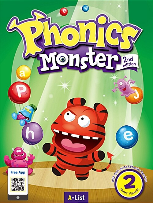 Phonics Monster 2 : Student Book (DVD-ROM + MP3 CD + Phonics Readers, 2nd Edition)