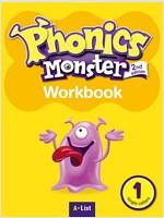 Phonics Monster 1 : Workbook (2nd)