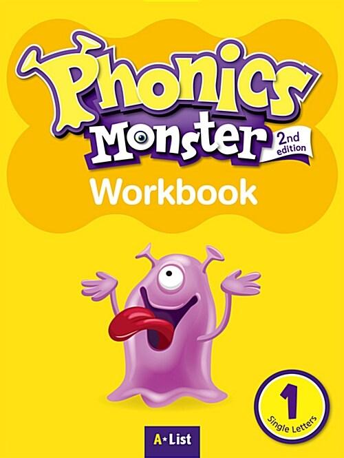 Phonics Monster 1 : Workbook (2nd Edition)