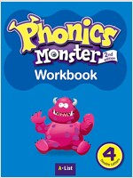 Phonics Monster 4 : Workbook (Single Letters) (2nd)