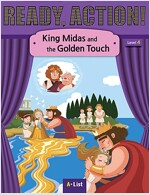 Ready Action 2E 4: King Midas and the Golden Touch [Student Book + Worbook + Audio CD + Multi-CD] (Pack)