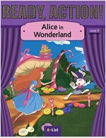 Ready Action 2E 4: Alice in Wonderland [Student Book + Worbook + Audio CD + Multi-CD] (Pack)