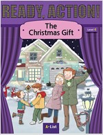 Ready Action 2E 4: The Christmas Gift [Student Book + Worbook + Audio CD + Multi-CD] (Pack)