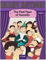 Ready Action 2E 4: The Pied Piper of Hamelin [Student Book + Worbook + Audio CD + Multi-CD] (Pack)