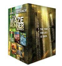 The Maze Runner Series Complete Collection Boxed Set (Paperback 5권)