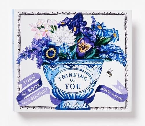 Thinking of You (a Bouquet in a Book): Turn This Book Into a Bouquet (Hardcover)