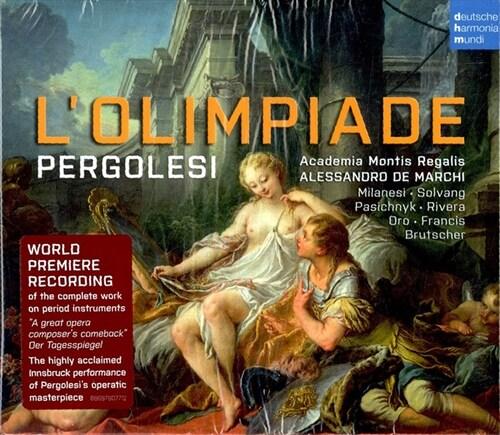 [수입] 페르골레지 : 올림피아드 [3CD]