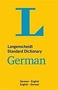 Langenscheidt Standard Dictionary German (Paperback)