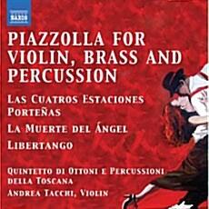[수입] 피아졸라 : 바이올린과 브라스, 타악기를 위한 탱고