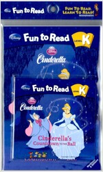 Disney Fun to Read K : Cinderella's Countdown to the Ball (Paperback + Workbook + Audio CD)