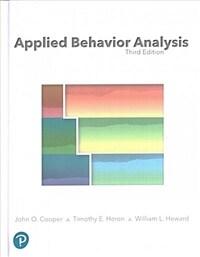 Applied Behavior Analysis (Hardcover)