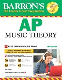 AP Music Theory: With Downloadable Audio Files (Paperback, 3)