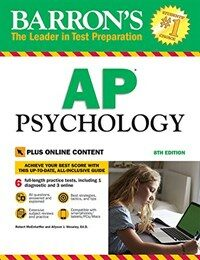 Barron's AP Psychology with Online Tests (Paperback, 8)