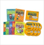 Roscoe Riley Rules #1~7 Book+CD Full Set (New) (7 paperbacks + 7 CDs)
