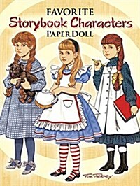 Favorite Storybook Characters Paper Doll (Paperback)
