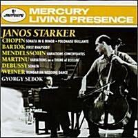[수입] Janos Starker - 쇼팽, 드뷔시: 첼로 소나타 (Chopin, Debussy: Cello Sonatas)