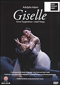 [수입] Anna Tsygankova - Adam - Giselle / Dutch National Ballet (지역코드1)(DVD)(2009)