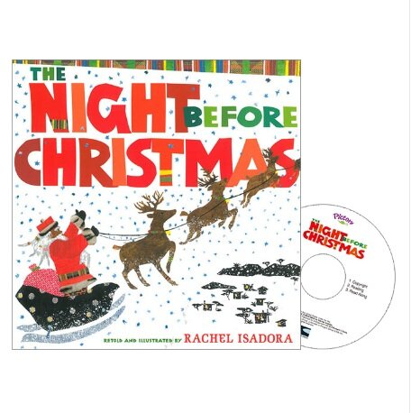 Pictory Set 3-26 / The Night Before Christmas (Paperback + Audio CD)